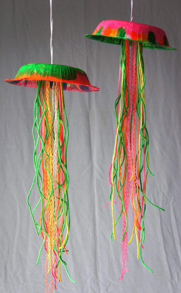 Barevné medúzy pro děti