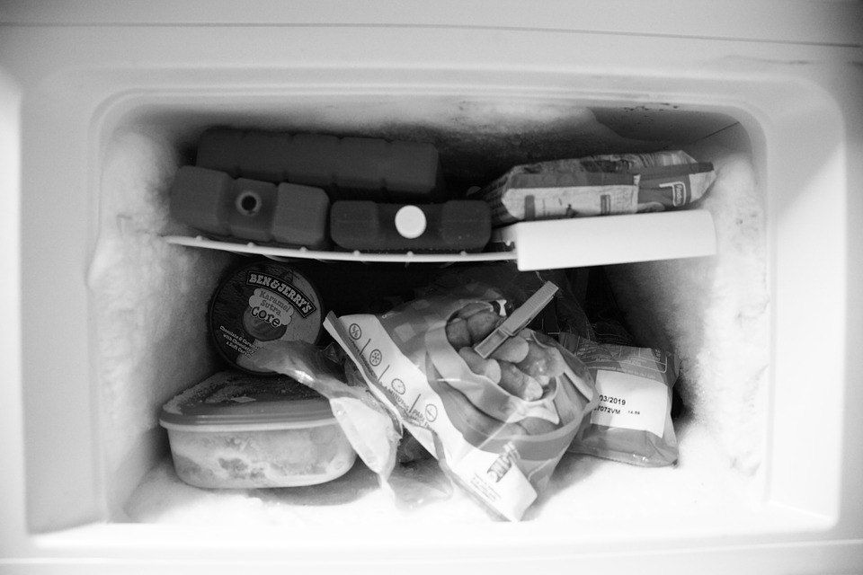 mrazák s nánosem ledu